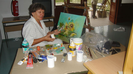 blogi 62 02 slikarska likovniki Kozjanski raj na platnih likovnih ustvarjalcev