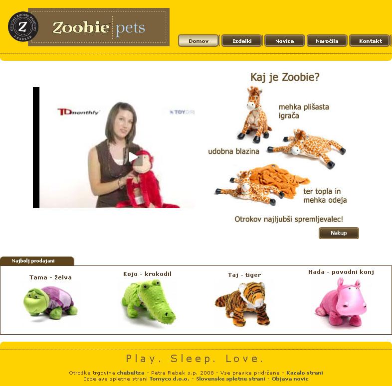 blogi 80 zoobies front page Nove spletne strani