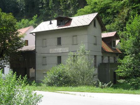 Ferležev mlin v Šibeniku pri Šentjurju.