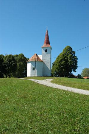 Podružnična cerkev Sv. Mohorja na Šmohorju