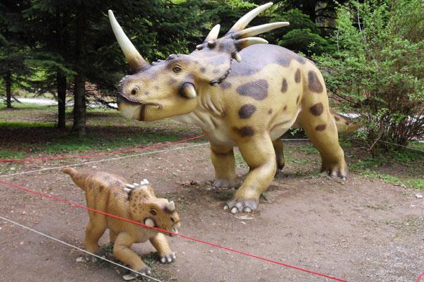 blogi 80 Volcji potok dinozavri Razstava dinozavrov v Arboretumu Volčji Potok