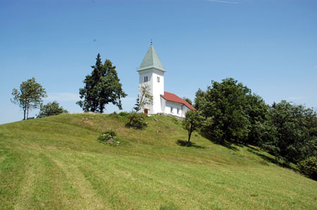 Podružnična cerkev Sv. Križa na Jablani