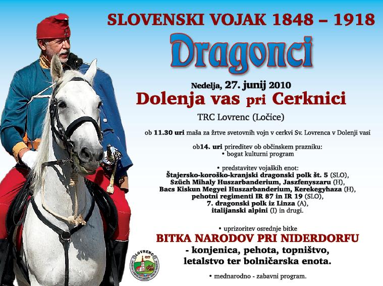 blogi 120 01 Dragonci TV Slovenski vojak 1848 - 1918