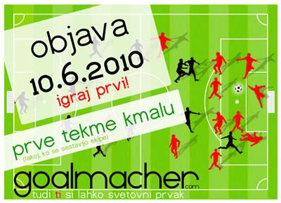 Igraj brezplačno spletno nogometno igro Goalmacher