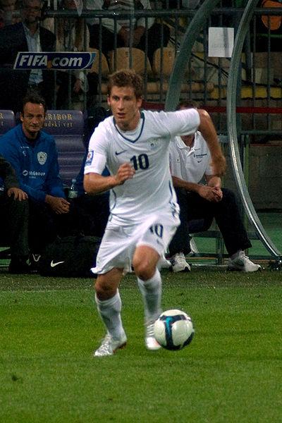 Valter Birsa, slovenska nogometna reprezentanca