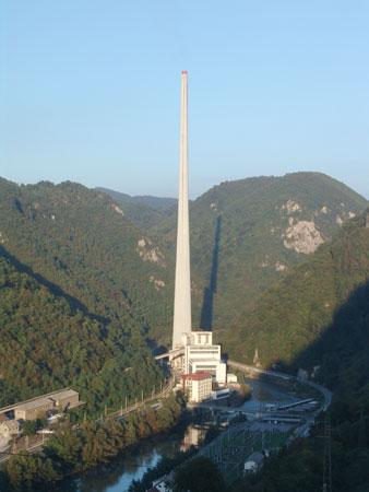 Dimnik Termoelektrarne Trbovlje