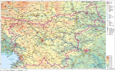 Sodobni Zemljevidi Slovenije Kam Si