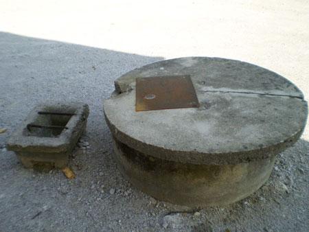 Vodnjak pred obnovo