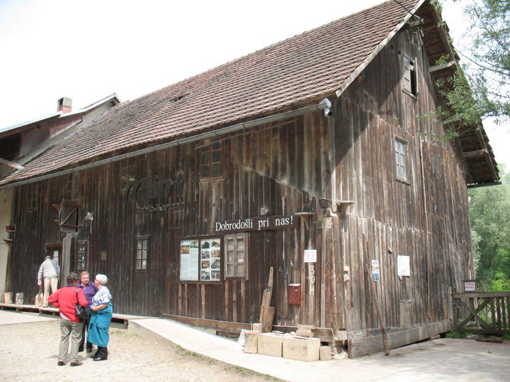 etno kmetije babicev mlin stavba Babičev mlin v Veržeju