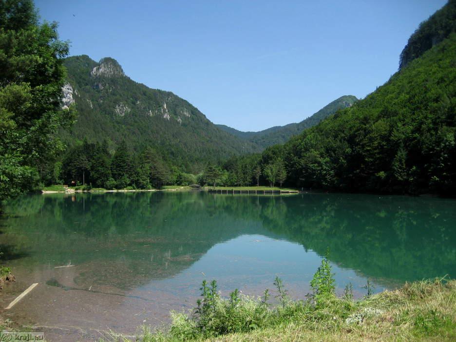 jezera zavrsnisko jezero big Završnica